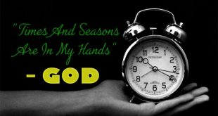 God Makes Everything Beautiful In His Time – Be Patient