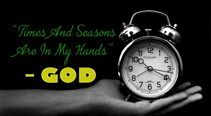 (Article) : God Makes Everything Beautiful In His Time – Be Patient