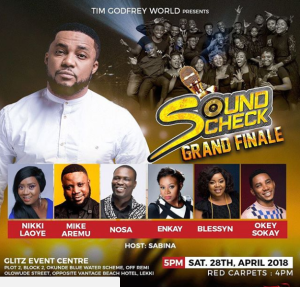 TIM GODFREY SOUND-CHECK-GRAND-FINALE