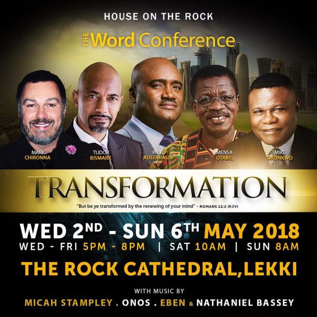 transformation / house on the rock