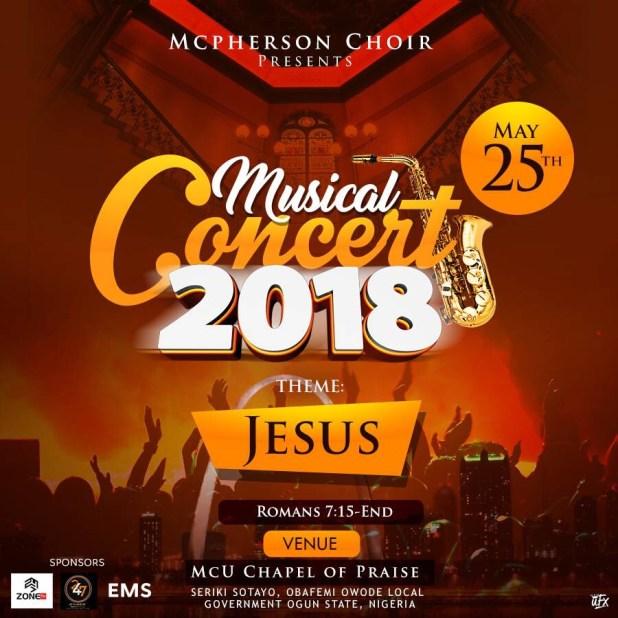 McPherson university music concert 2018