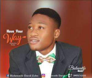 """Have Your Way"" By Boluwatife David - 247gvibes.com"