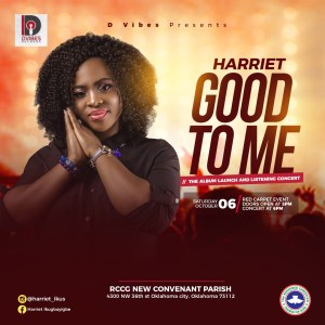 Harriet To Set To Host GOOD TO ME Album Launch and Listening Concert