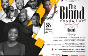 The Blood Covenant (EP) Unveiling Concert with Yadah   20th Sept   @yadahsings