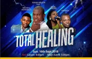 Kingdom Harvest World Outreach Presents Total Healing