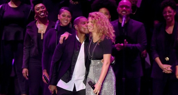 "Gospel Artiste ""Tori Kelly"" Wins Two (2) Gospel Grammys, Thanks Her 'Hero' Producer Kirk Franklin"
