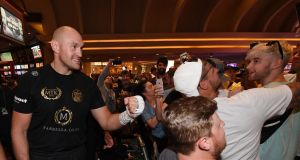 Tyson Fury ready for 10 years at top ahead of Las Vegas debut v Tom Schwarz – Mirror Online