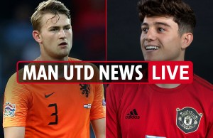 11pm Man Utd transfer news LIVE: James ready to fight after move, Watford youngster eyed, De Ligt not going – The Sun