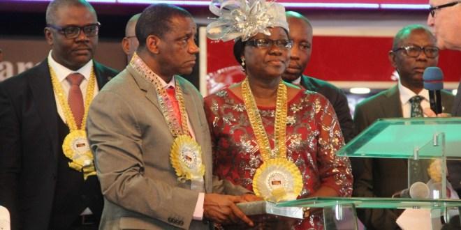 FOURSQUARE GOSPEL CHURCH IN  NIGERIA SWEARS IN NEW GENERAL OVERSEER | @FOURSQUARENIGR