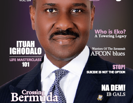 Ituah Ighodalo covers 4th Edition of Nigeria's Premium Society & Lifestyle Magazine, Merge. | @pastorituah