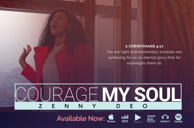 Zenny DEO - Courage My Soul (Artwork)