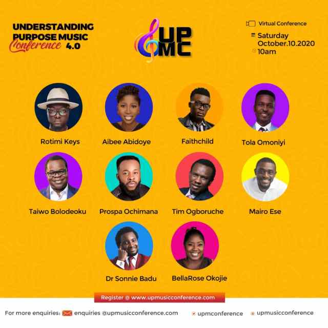 Event: Understanding Purpose Music Conference