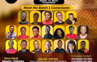 New Generation Voice Africa, the Gospel Music Reality Show by Tinadel's Promotions & Awards Organization, is on the Hunt for the Next Africa Biggest Gospel Music Star.