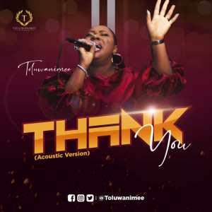 Toluwanimee Serves Live Acoustic recording for single 'Thank You' | @toluwanimee