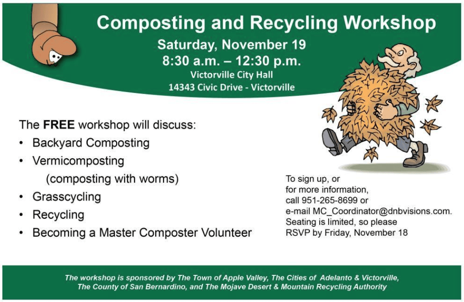 Composting and Recycling workshop