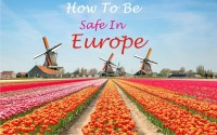How to be safe in Europe