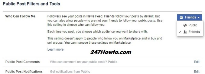 See your followers on facebook