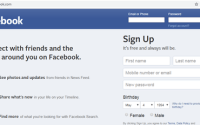 open facebook without password