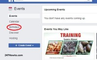 Birthdays on Facebook