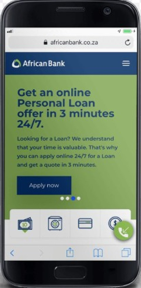 loan at African bank online
