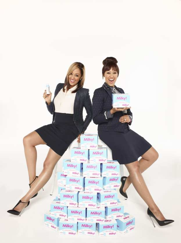 @TiaMowry & @TameraMowryTwo Launch @NeedBrands #247ModernMom #Interview