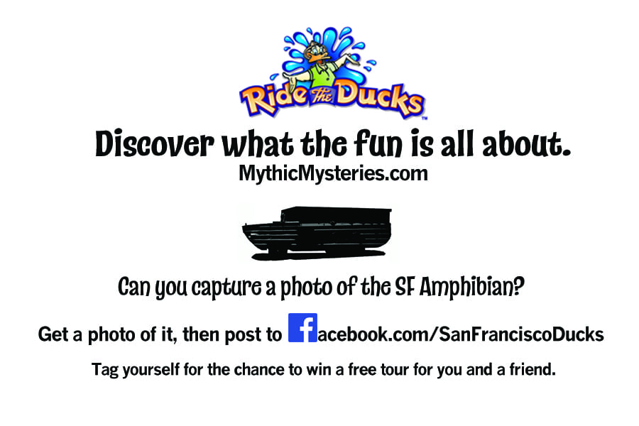Capture a Photo of the SF Amphibian #RideTheDucks #FamilyFun @sanfranducks #Sponsored