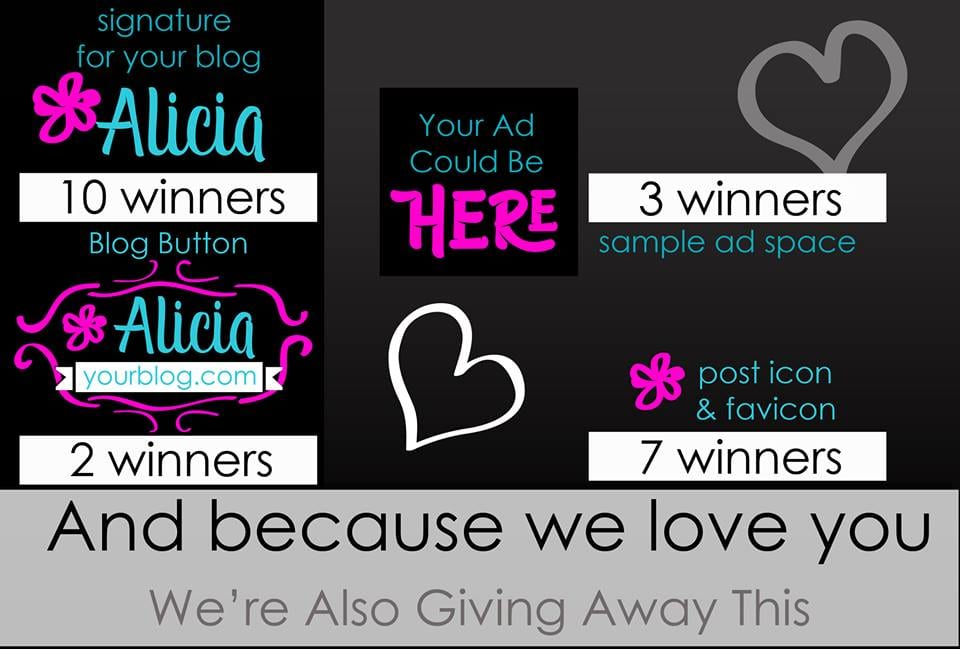 Other Prizes - Blogger Giveaway