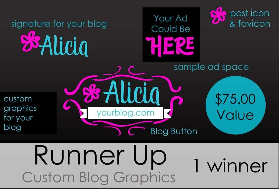 Runner Up - Blogger Giveaway
