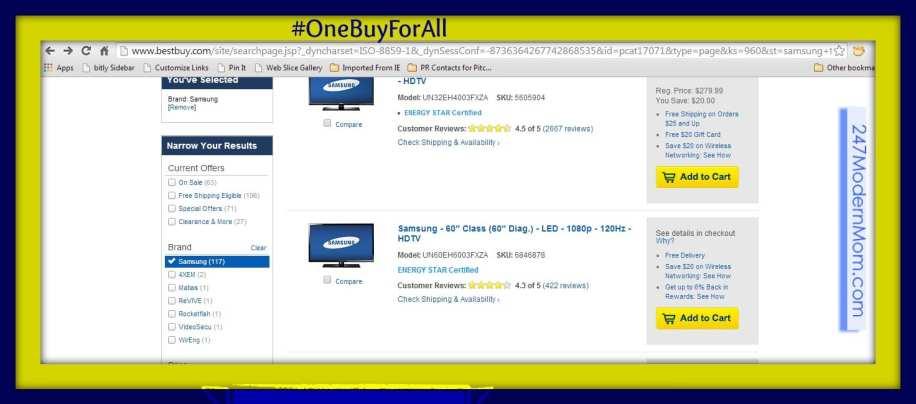 #Shop #Cbias #OneBuyForAll Samsung