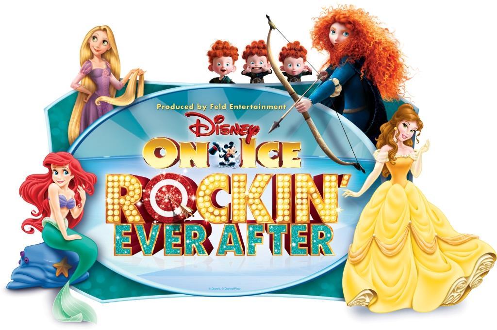 #sponsored Disney on Ice presents Rockin' Ever After