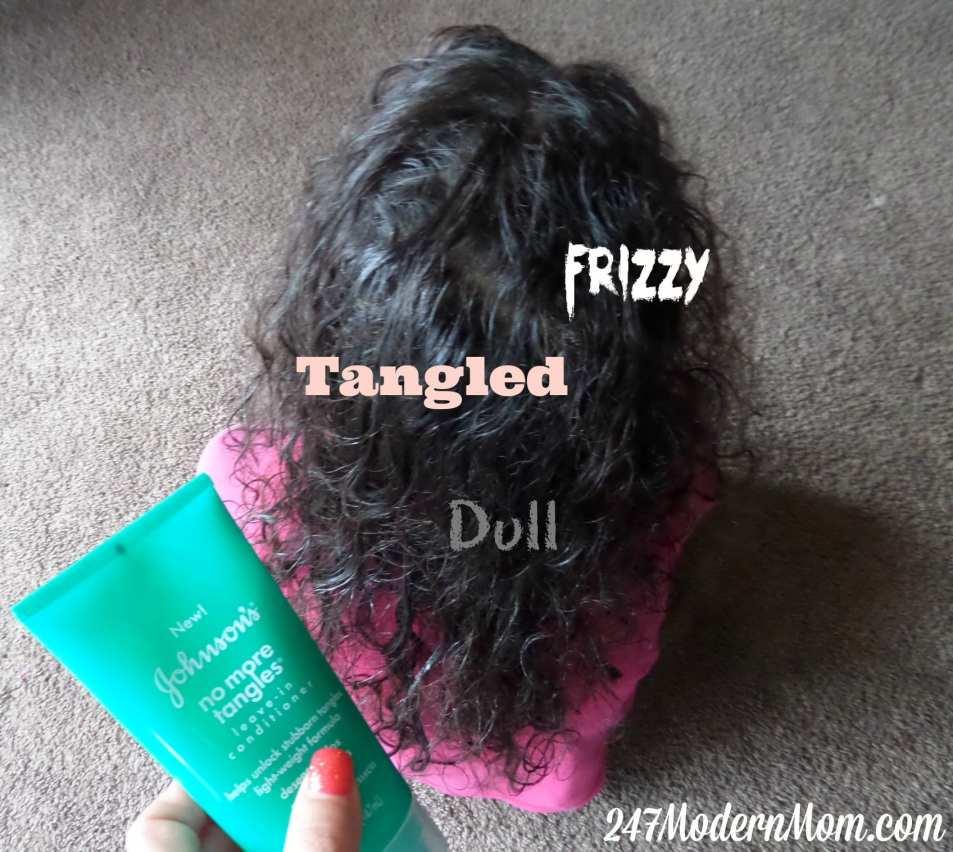 #LaFamiliadeHoy Tangled Hair