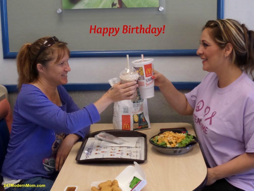 McDonalds Memories - Birthdays #Ad