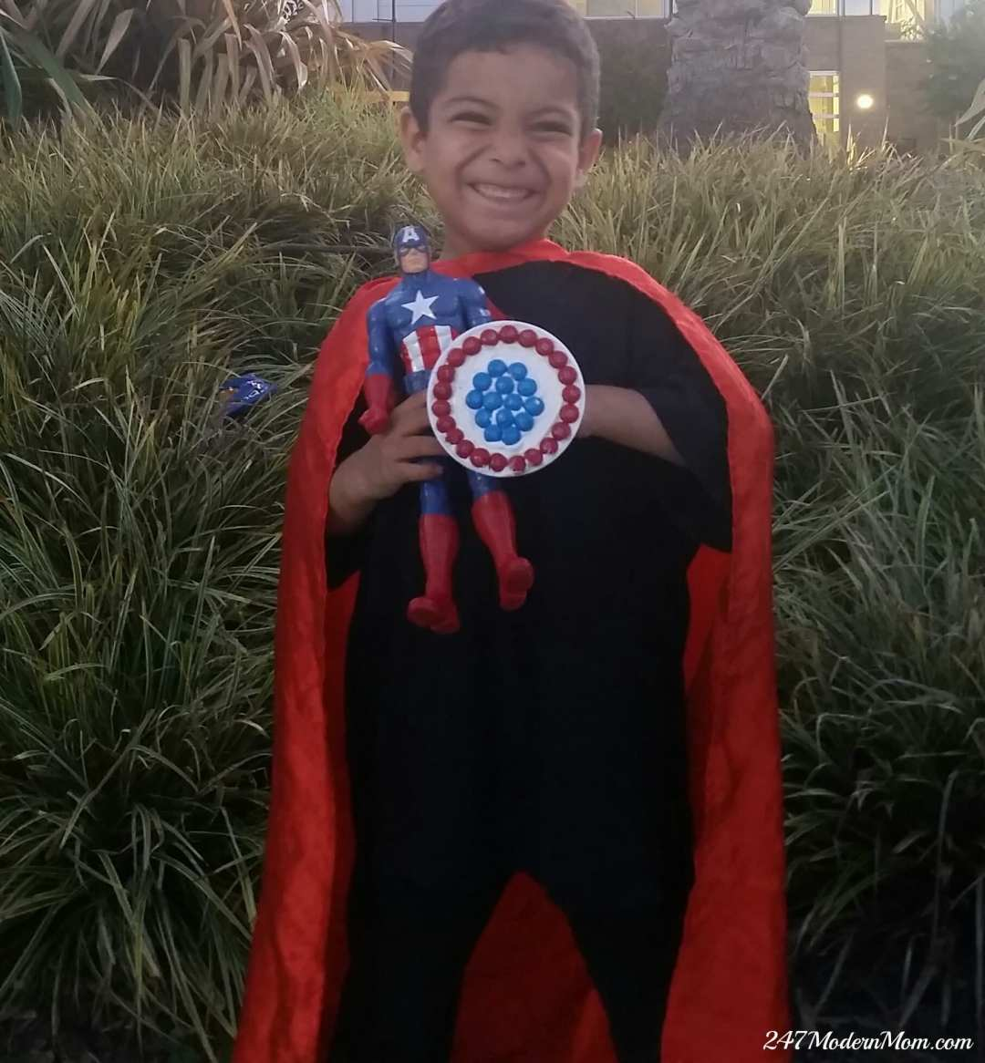 #HeroesEatMMs #Shop CollectiveBias Captain America