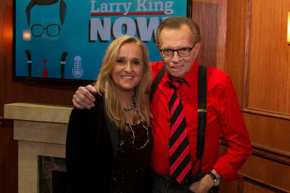 Melissa Etheridge with Larry King - Photo Courtesy of Ora.tv