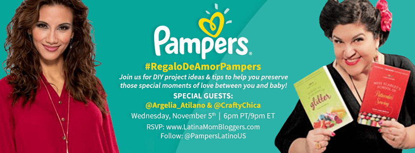 "Join Us for Pampers ' ""Regalo de Amor"" Twitter Party #RegaloDeAmorPampers"