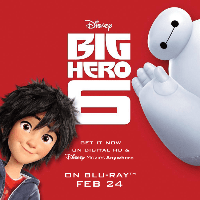 6 Guaranteed Ways To More Happiness:  Big Hero 6 Photo Challenge & Giveaway