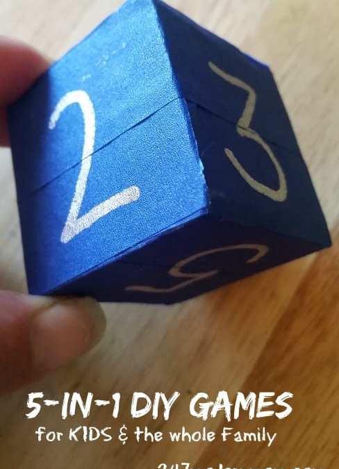 5-In-1 DIY Games: Educational & Interactive Floor Based Fun