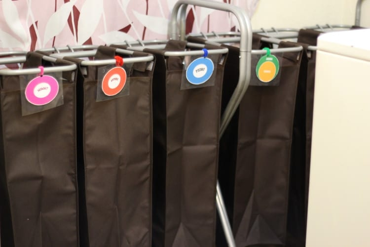 chore charts laundry basket