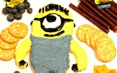 Minion Cheese Spread Recipe for Movie Night: Picture Tutorial