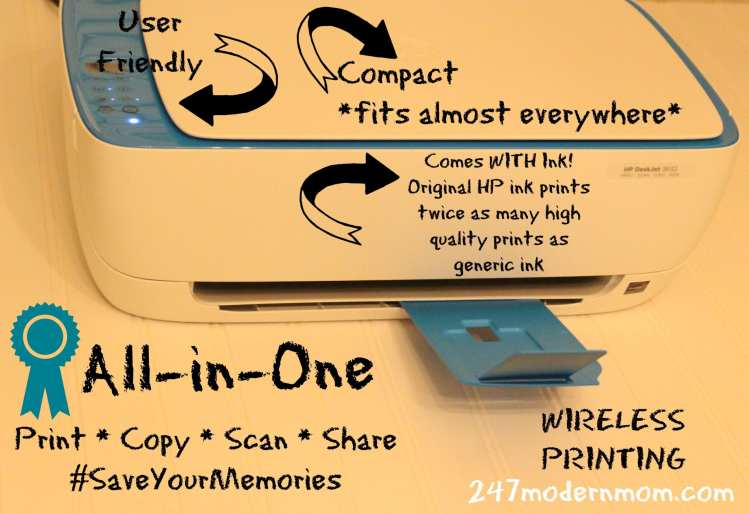photo frame tutorial  hp printing