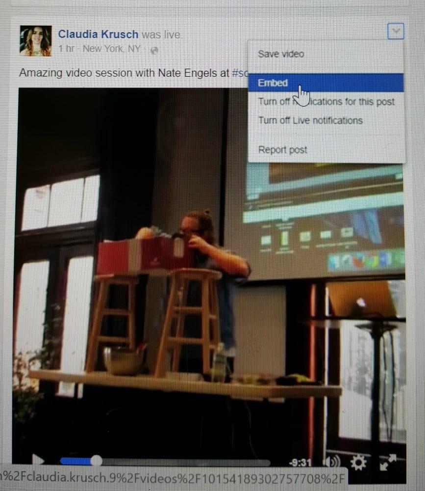 Facebook-Live-Embed
