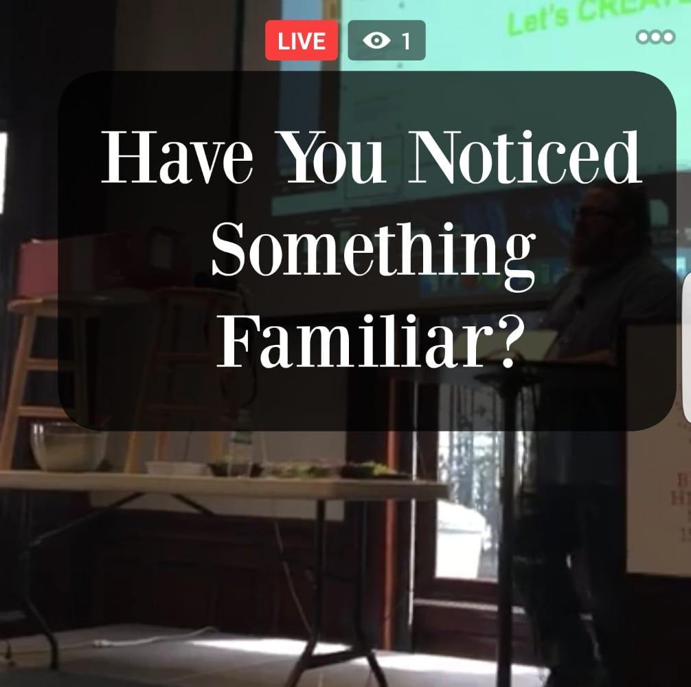 Facebook-Live-Something-Familiar
