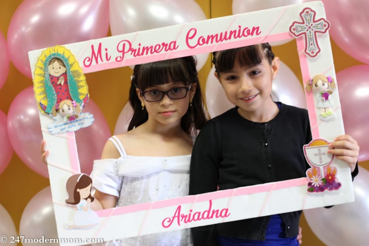 First Communion Party Ideas picture frame