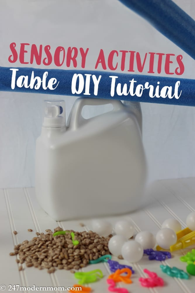 Sensory Activities Table