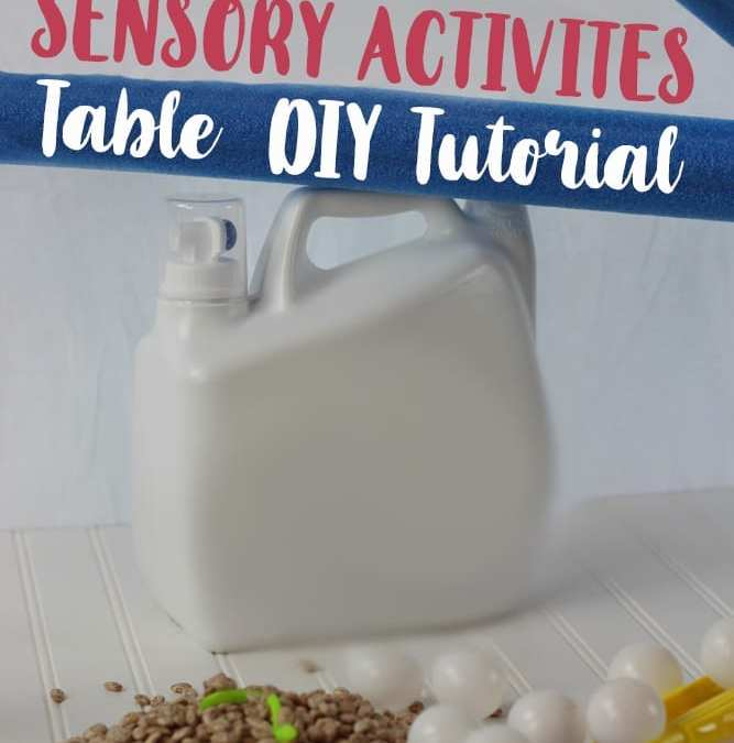 Sensory Activities: DIY Table Tutorial