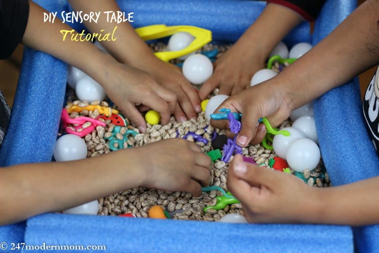 Sensory Table DIY Tutorial