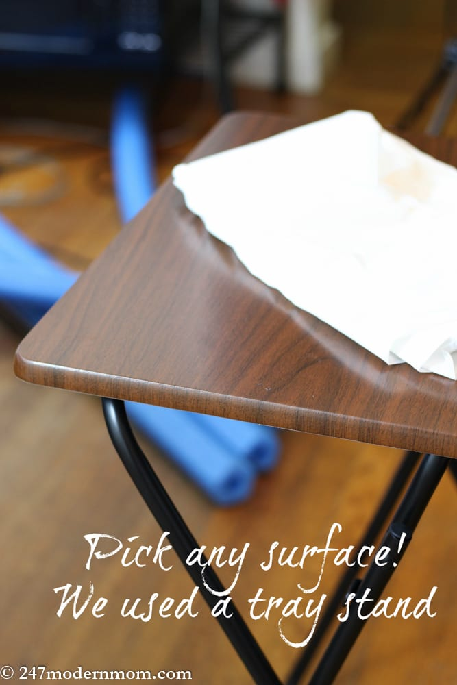 DIY Table Preparation