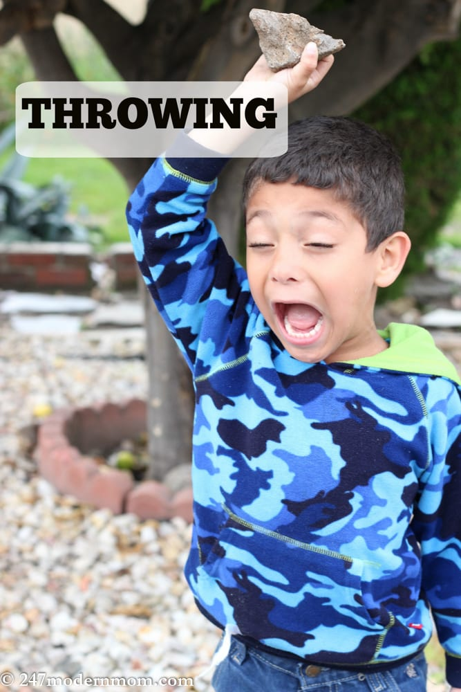 Special Needs Parenting-throwing