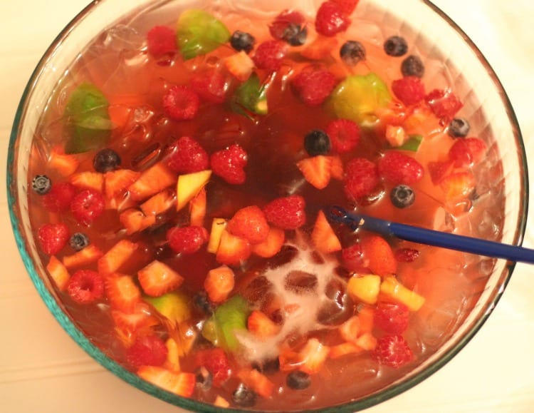 Simply Summer Punch Bowl