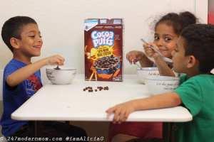 dia de los muertos altar cereals